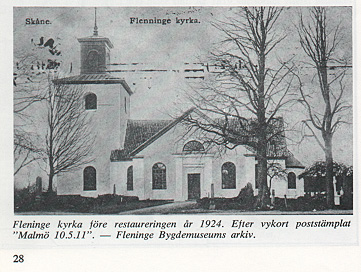 Fleninge kyrka före 1924
