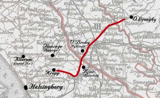 Östra Ljungby - Kropp