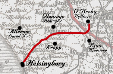 Västra Broby - Helsingborg